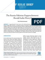 The Russia-Pakistan Rapprochement