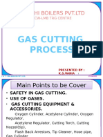 Gas Cutting - By Kiran