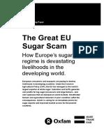 The Great EU Sugar Scam