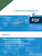 03 OM_AC3205_E02_1 RAN EMS Maintenance Management 18
