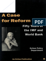 A Case for Reform