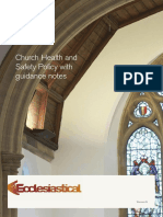 Church Insurance Health and Safety Policy With Guidance Notes