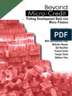 Beyond Micro-Credit