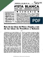 La Revista Blanca (Madrid). 19-4-1935