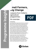 Small Farmers, Big Change