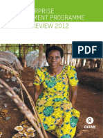The Enterprise Development Programme Annual Review 2012