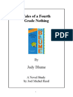 Tales of a Fourth Grade Nothing Novel Study Preview