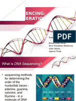 First Generation Sequencing