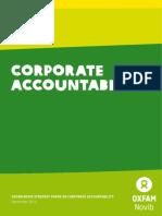 Oxfam Novib Strategy Paper on Corporate Accountability
