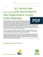 InfoAdoMali – Sexual and reproductive health rights and young people