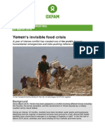 Yemen's Invisible Food Crisis