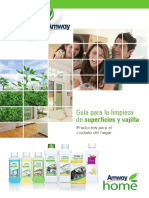 Guia Superficies AH Amway Home