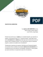3.Objetivos Del Marketing
