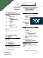 Parasitology Lecture 9 - Malaria.pdf
