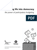 Breathing Life into Democracy