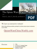 opium war ppt