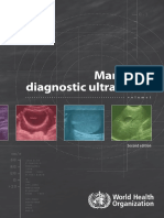 Manual of Diagnostic USS WHO
