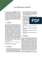 Lattice Boltzmann Methods