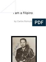 I Am a Filipino by Carlos Romulo