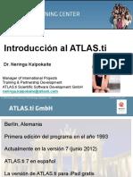Presentacion Atlas Ti 20151
