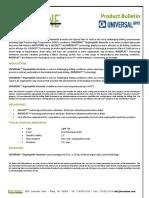 Hectatone Universal ProductBulletin