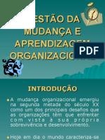 GESTÃO DA MUDANçA E APRENDIZAGEM ORGANIZACIONAL