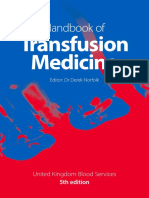 5th Handbook of Transfusion Medicine