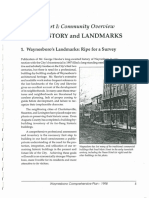 Part I Community Overview B History and Landmarks