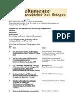 Dokumente zur Vorgeschichte des Krieges - Auswärtiges Amt, Weissbuch Nr. 2