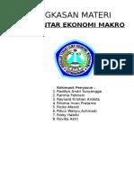 Ringkasan Teori Pengantar Makro ekonomi