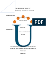 Trabajo Individual  psicopatologia y contextos