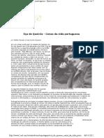 Artigo Sobre Eça de Queirós - Garmes & Siqueira