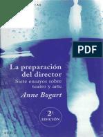 (Artes Escénicas) Anne Bogart-La Preparación Del Director_ Siete Ensayos Sobre Teatro y Arte-Alba (2013)