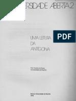 Eudoro de Souza - Uma leitura da Antígona (1978)