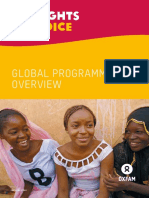 My Rights, My Voice Global Programme Overview