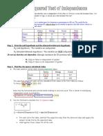 chi square statistics review wksht- good