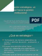 Planificacion Estrategica Dr Luis Garita Bonilla