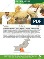 Resilience in Pakistan