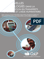 New Technologies in Cash Transfer Programming and Humanitarian Assistance