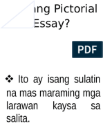 Ano Ang Pictorial Essay