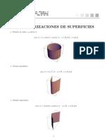 Parametrizaciones de Superficies