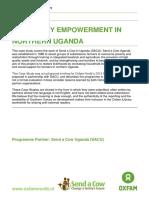 Community Empowerment in Northern Uganda