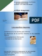 Escritos Mayores