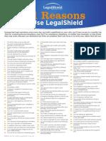 101 reasons legal shield