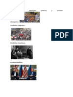 Conflictos Por Ideologías Políticas y Sociales Divergentes