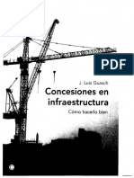 Concesiones en Infraestructura