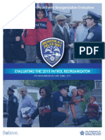 RPD Reorganization Evaluation