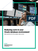 Reducing costs in oracle