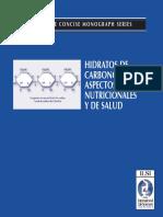 Hidratos de Carbono Aspectos Nutricionales y de Salud