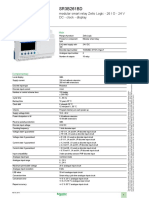 Datasheet Zelio SR3B261BD
